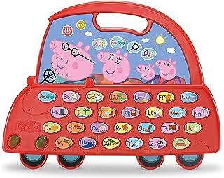VTech Peppas 80-530604 alfabetbord peuter speelgoed, Peppa Putz, leren, leerinhoud: letterluid, woordschat, volgorde van h...