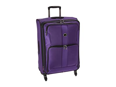 Delsey Sky Max Expandable 29 Spinner Upright (Purple) Luggage
