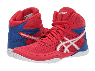 ASICS Kids Matflex 6 (Toddler/Little Kid/Big Kid) (Classic Red/White) Kids Shoes