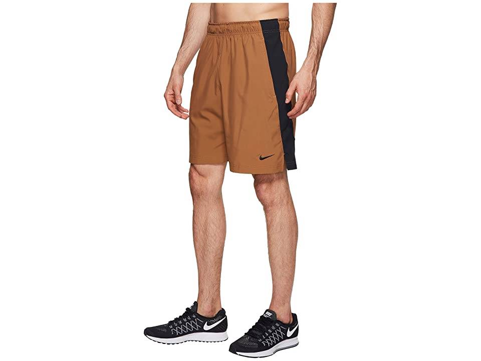Nike Flex Woven Training Short (Ale Brown/Black/Black/Black) Men