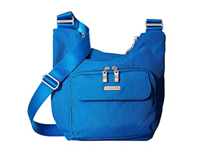 Baggallini Legacy Criss Cross Bagg (Director Blue) Cross Body Handbags