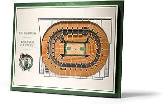 YouTheFan NBA Unisex NBA 5-Layer Stadiumviews 3D Wall Art