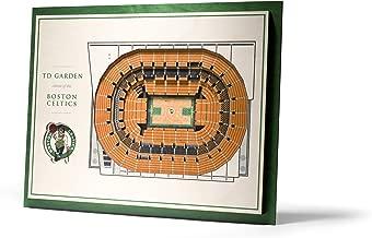 YouTheFan NBA Unisex NBA 5-Layer Stadiumview 3D Wall Art