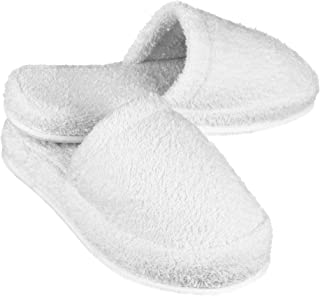 cotton terry cloth slippers