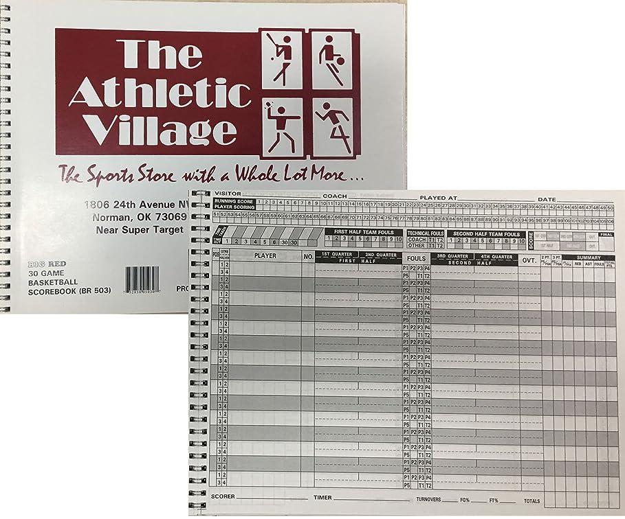 スタジオエンドウシンカン標準バスケットボールScorebook、30ゲームSpiral Bound 15選手(セットof 3?)