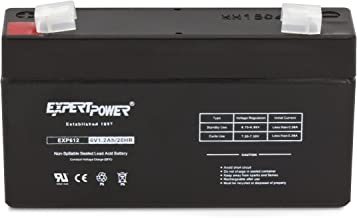 Best 6 volt 1.2 ah battery Reviews