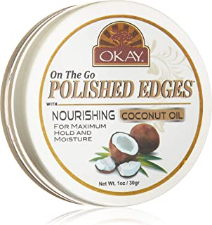 OKAY Colored Edges, Coconut Oil, 30.00 g
