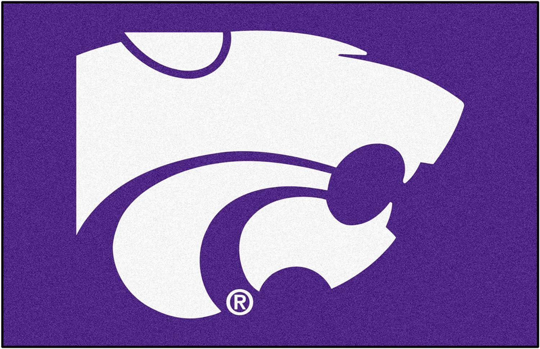 NCAA Kansas State University Wildcats Starter Mat Rectangular Area Rug