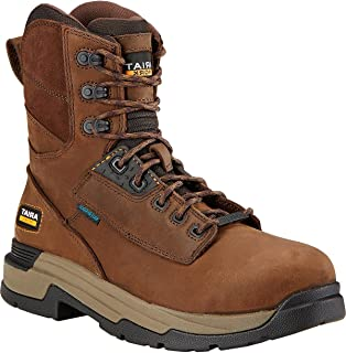 """حذاء عمل Mastergrip رجالي من Ariat مقاس 8"""" H2O ذو مقدمة مركّبة"""