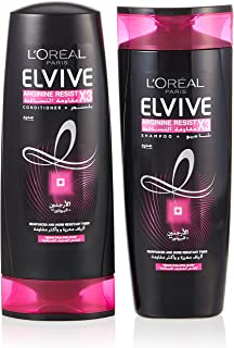 L'oreal Elvive Arginine Resist X3 Shampoo 400ml + Conditioner 400ml