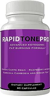 Rapid Tone Pro Weight Loss Supplement - Extreme Weightloss Lean Fat Burner | Advanced Thermogenic Fat Loss Formula Pills for Women Men Natural Weight Loss Pastillas Original