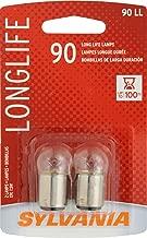 Sylvania 90 Long Life Miniature Bulb (Contains 2 Bulbs)