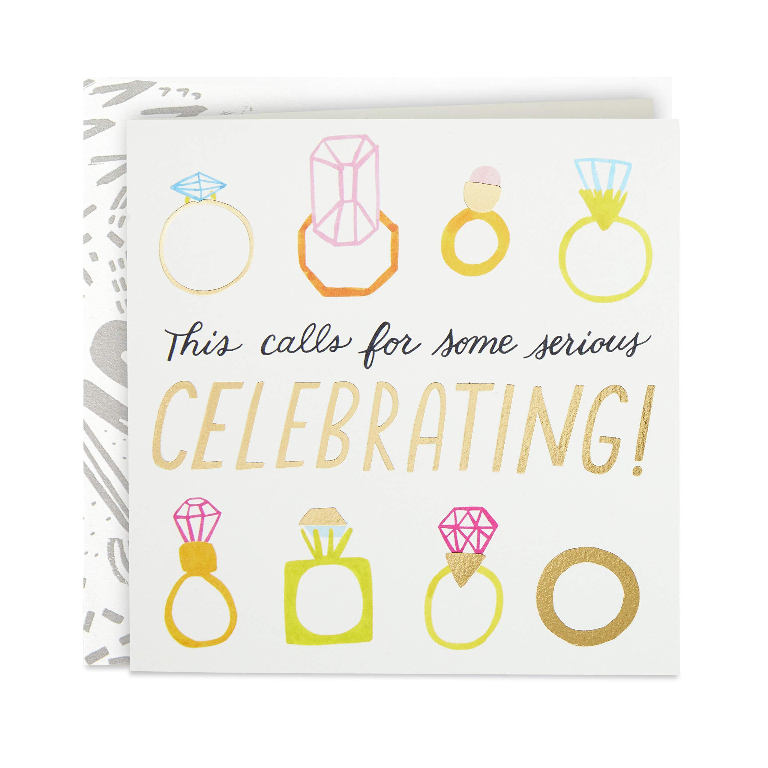 Hallmark Good Mail 婚礼卡,新娘淋浴卡,订婚卡(戒指)