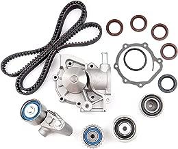 OCPTY Fits for 2000-2006 Subaru Legacy Outback Baja 2.5L EJ25 Non-Turbo H4 SOHC Water Pump Timing Belt Kit W/Tensioner