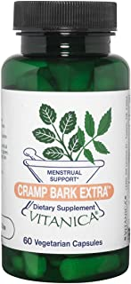 Sponsored Ad - Vitanica Cramp Bark Extra, Menstrual Support, Vegan/Vegetarian, 60 Capsules