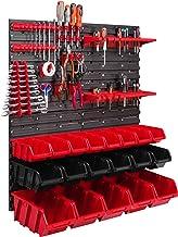 19 stapelboxen gereedschapshouder wandrek werkplaatsrek gereedschapswand 78x78cm