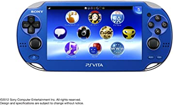 $420 » PlayStation Vita, WiFi Sapphire Blue, Japanese Version