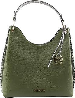 MICHAEL Michael Kors Women's Joan Large Slouchy Shoulder Bag in Evergreen, Style 35S1GV9L3E.