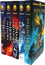 The Heroes of Olympus Collection 5 Books Set Collection by Rick Riordan (Hardback)
