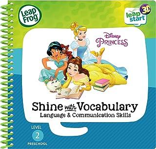 LeapFrog Level 2 LeapStart Book - Disney Princesses Shine with Vocabulary - 3D Enhanced Book