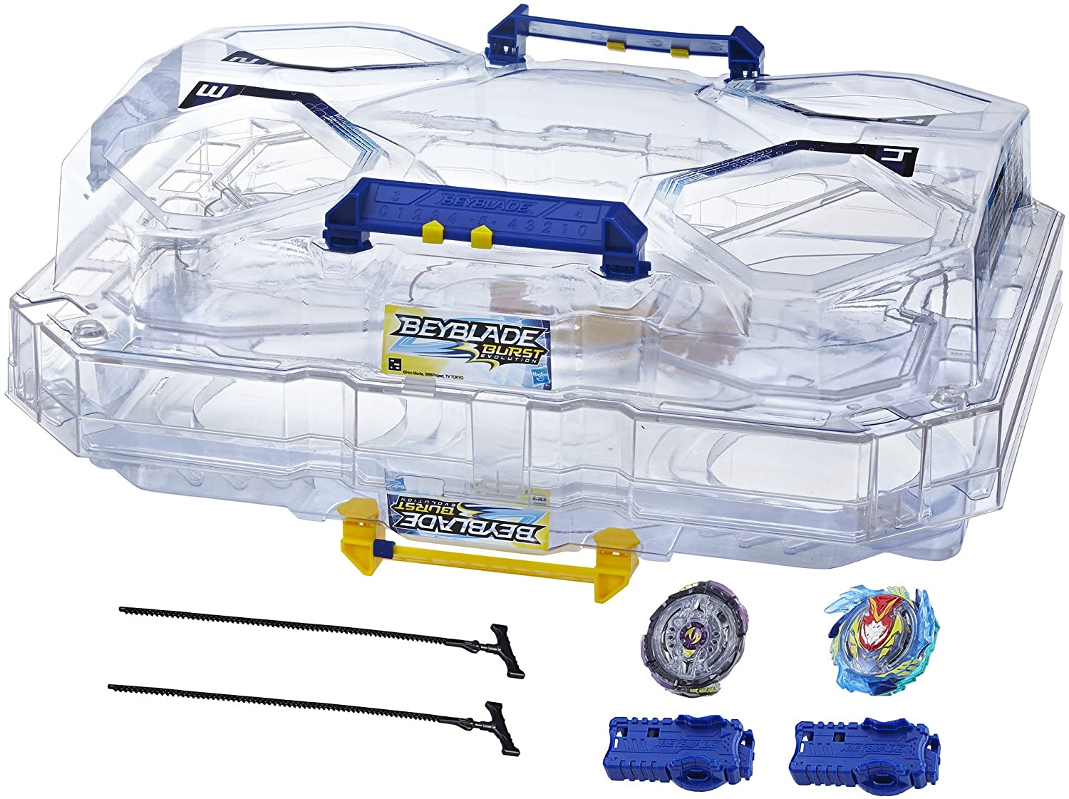 Beyblade Burst Evolution New arrival Switchstrike Tower-Includes Manufacturer regenerated product 2-Le Battle