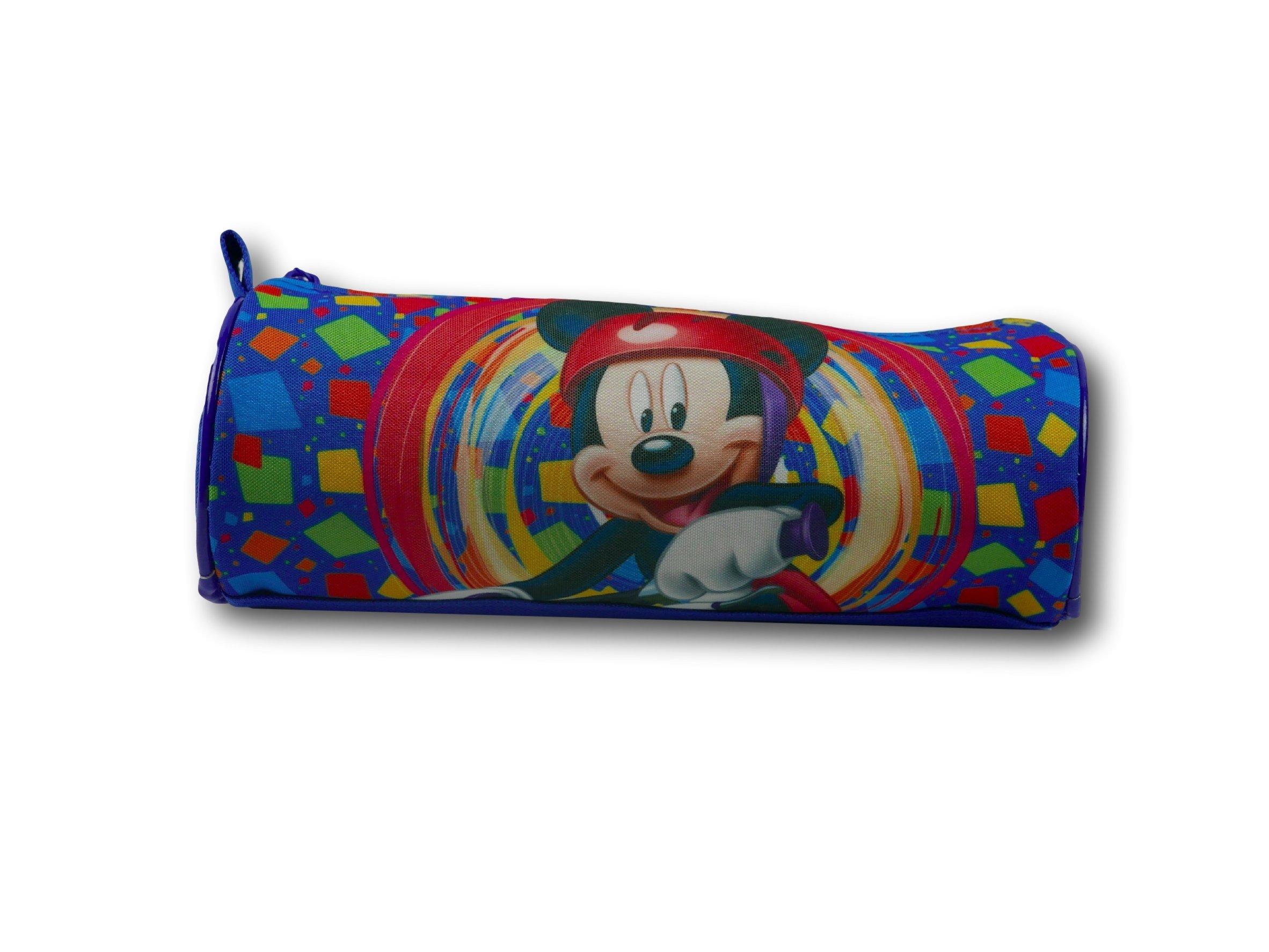 Estuche Lápices Y Colores Mickey Mouse: Amazon.es: Oficina y papelería