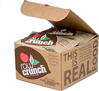Raw Crunch Bars - Organic Dark Chocolate Cherry - Box 12 Bars