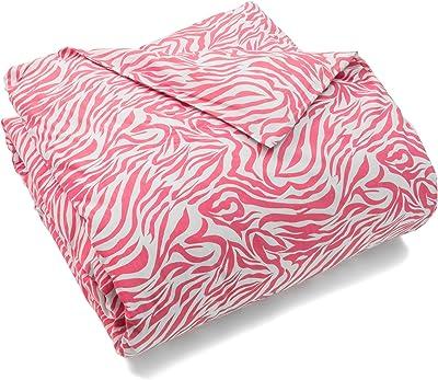 Be-You-tiful Home Pink Zebra Hot King Duvet Cover