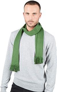 Brunella Gori Sciarpa - Foulard 100% Merino EXTRAFINO (Verde)