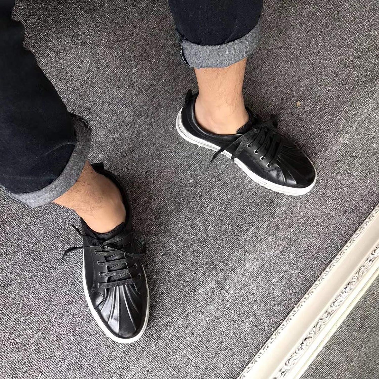 LOVDRAM Men'S Leather shoes, Shellfish, Men'S Casual shoes