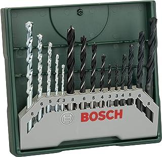 Bosch 2607019675 Mini-X-Line Vridborr Uppsättning, 15 Delar