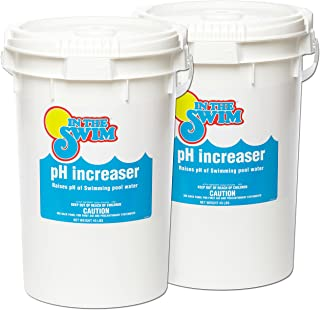In The Swim Granular Pool pH Increaser - 90 Pounds (2 x 45 Pound Buckets)