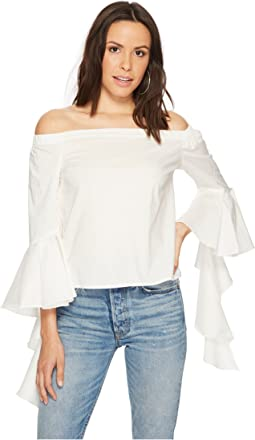 Bishop + Young - Gigi Sleeve Detail Top
