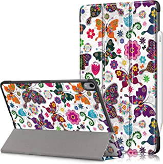 Case for iPad Air 4th Generation/iPad Air 10.9 Inch 2020, Slim Lightweight Shockproof Protective Tablet Cover Accessories ...