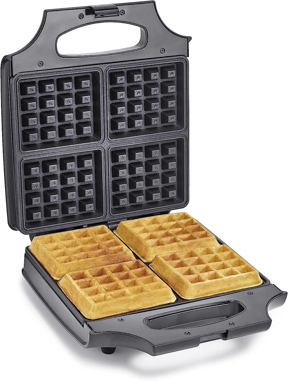 BELLA 4 Slice Non-Stick Belgian Waffle Maker