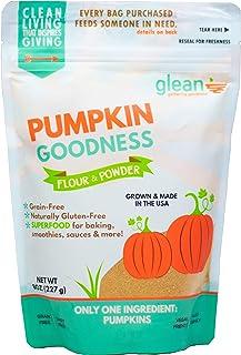 Glean Pumpkin Goodness | Gluten Free Pumpkin Flour and Powder | Paleo, Vegan, Low Carb, Low Sugar | Great for baking bread...