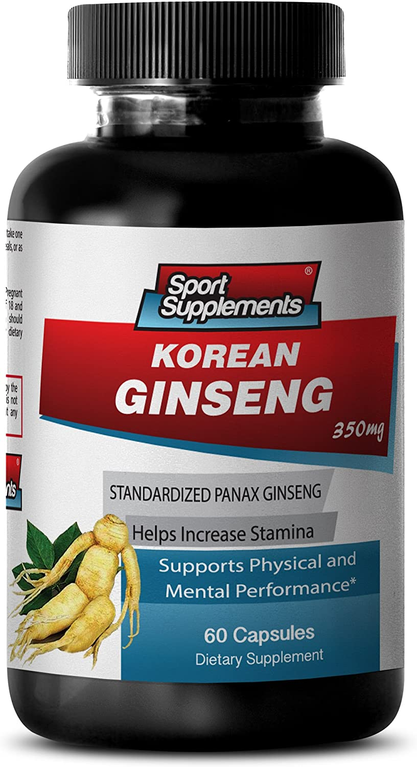 Korean Ginseng Extract - 350mg -Promote Free shipping on posting reviews Vitality Recommendation