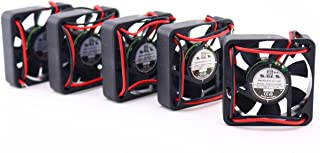 KNIGHT ELECTRONICS ORION FANS OD4010-24HSS OD4010 Series 6000 RPM 40 x 40 x 10 mm 7 CFM 24 V Sleeve Bearing DC Fan - 5 ite...