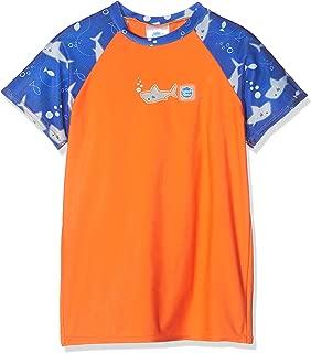 Splash About Uv *上衣 - 鲨鱼橙色,3-4 岁