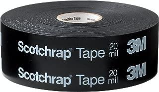 3M(TM) Scotchrap(TM) Vinyl Corrosion Protection Tape 51, Unprinted, 2 in x 100 ft, Black