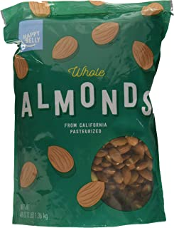raw unsalted almonds