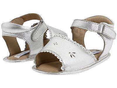 Elephantito Sandal W/ Scallop (Infant/Toddler) (Silver) Girl