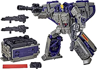 Transformers Toys Generations War for Cybertron: Earthrise Leader WFC-E12 Astrotrain Triple Changer Action Figure - Kids A...