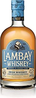 LAMBAY WHISKEY, Small Batch Blend, Whisky Irlandais Triplement Distillé, Fruité & Non Tourbé, 40° 70cl - Saint Patrick Whisky