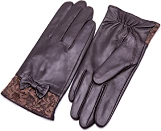 Best fingerless leather gloves with bow Reviews