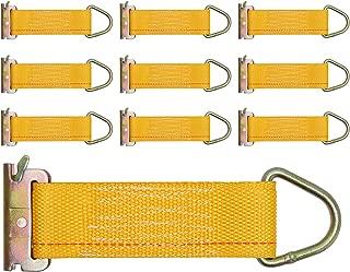 Trekassy 10 Pack E Track Rope Tie Offs, 2