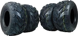 New 4 Pack of 16x8.00-7 MASSFX ATV/ATC Tires Tire 16x8-7 16/8-7 16x8x7