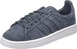 adidas Originals Womens Campus Stitch and Turn Casual Trainers Sneakers - Grey