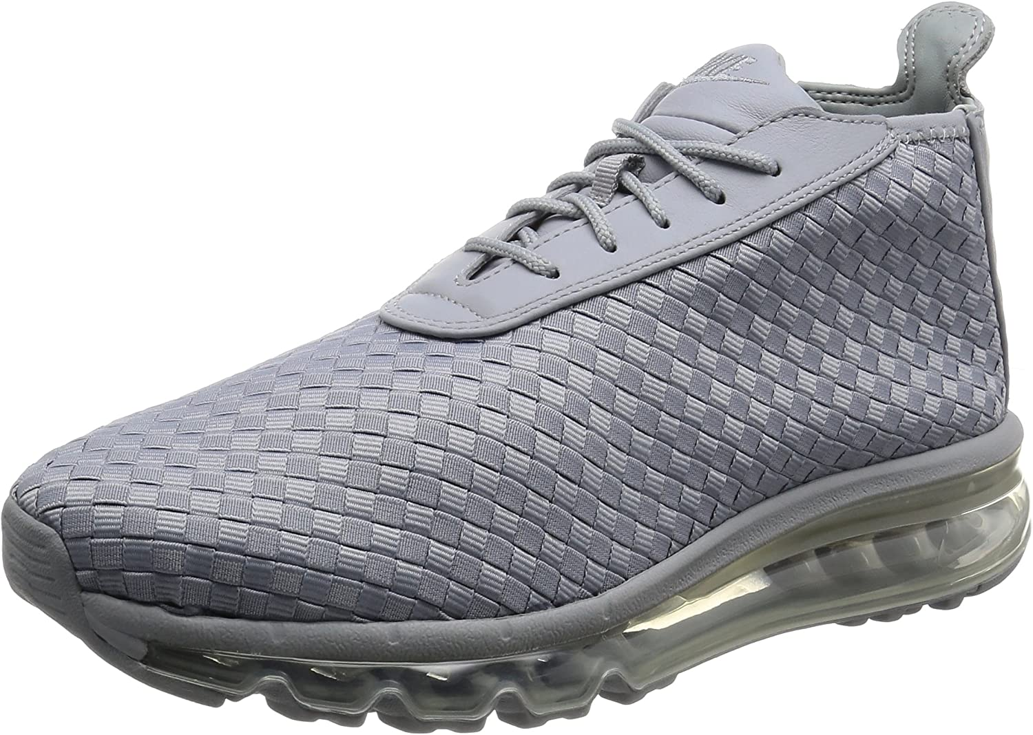 Nike Mens Air Max Woven Boot Grey White Woven Size 12
