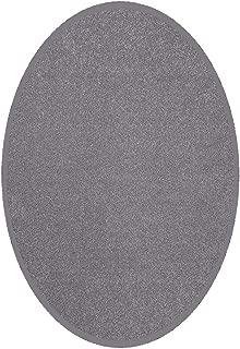 Best grey oval rug Reviews